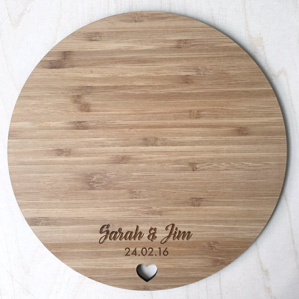 Laser Cut Serving Boards
