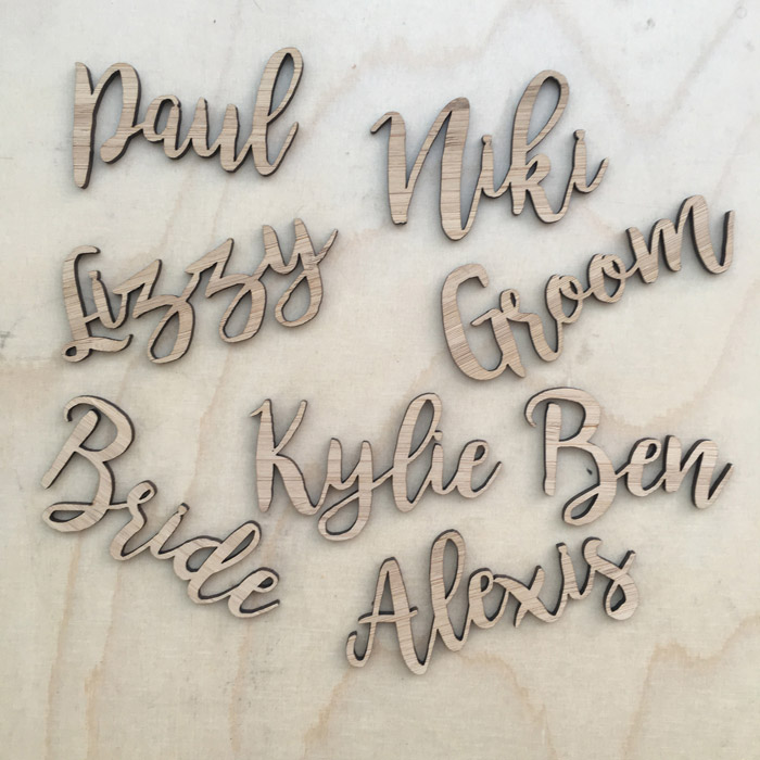 Laser Cutting Names